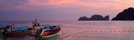 Oplev det smukke Thailand fra toppen